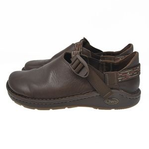 CHACO Pedshed Sz 9 Brown Leather Comfort Walking